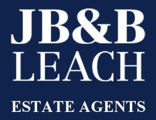 JB and B Leach Estate Agents logo