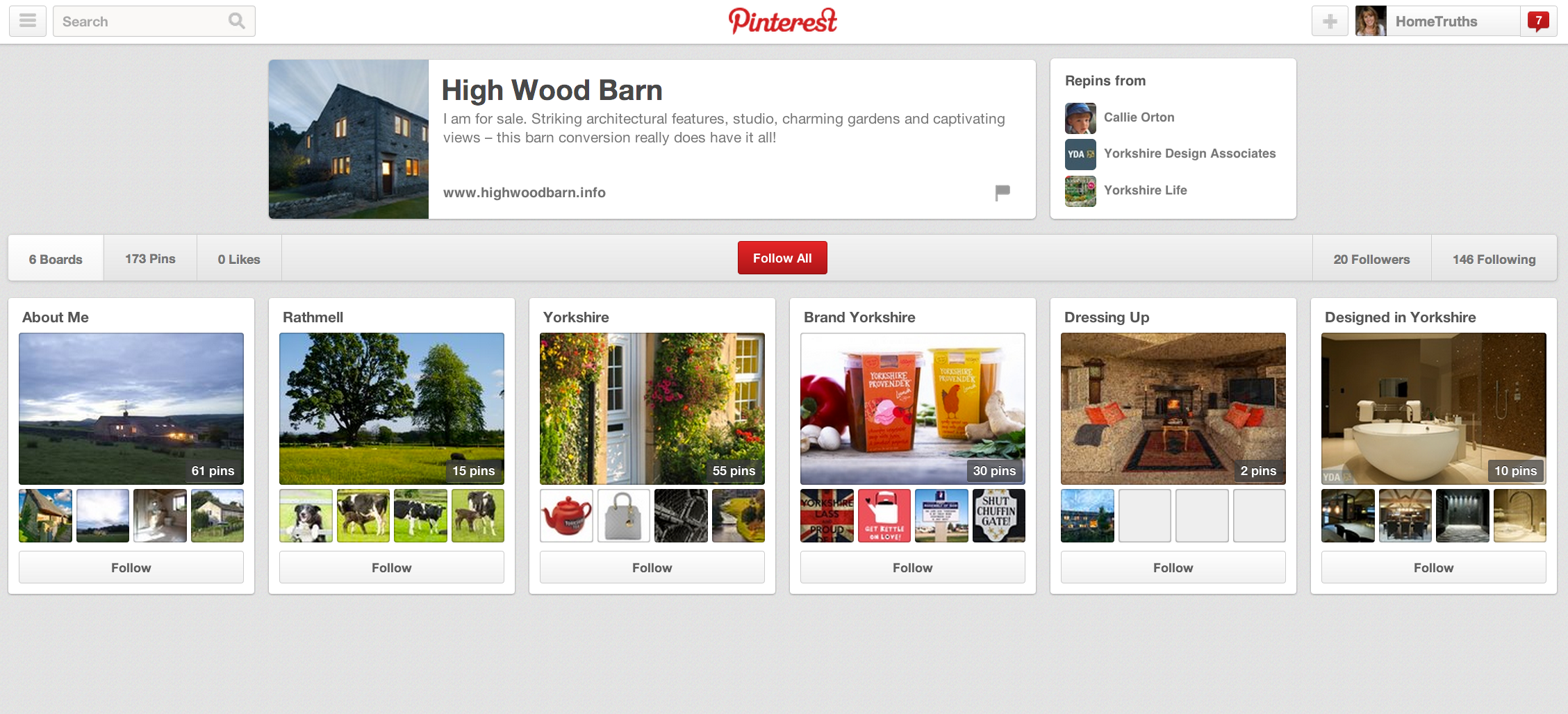 High Wood Barn on Pinterest