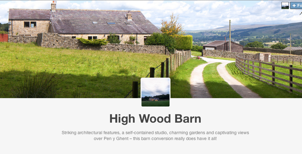 High Wood Barn on Tumblr