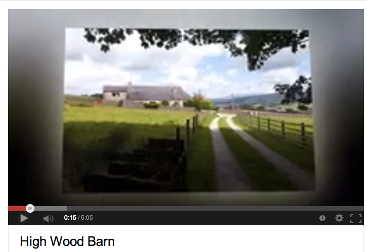 High Wood Barn on YouTube