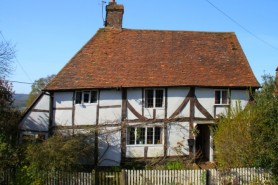 Old cottage with timber frame HomeTruths