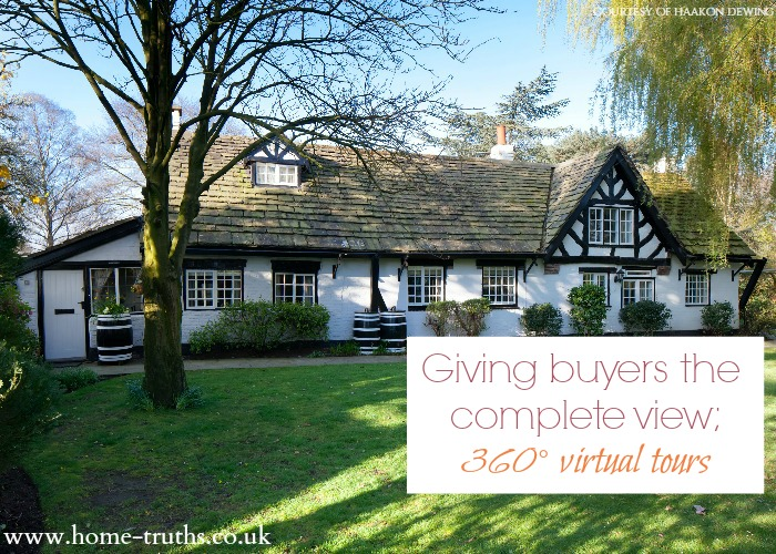 Giving buyers the complete view; 360° virtual tours