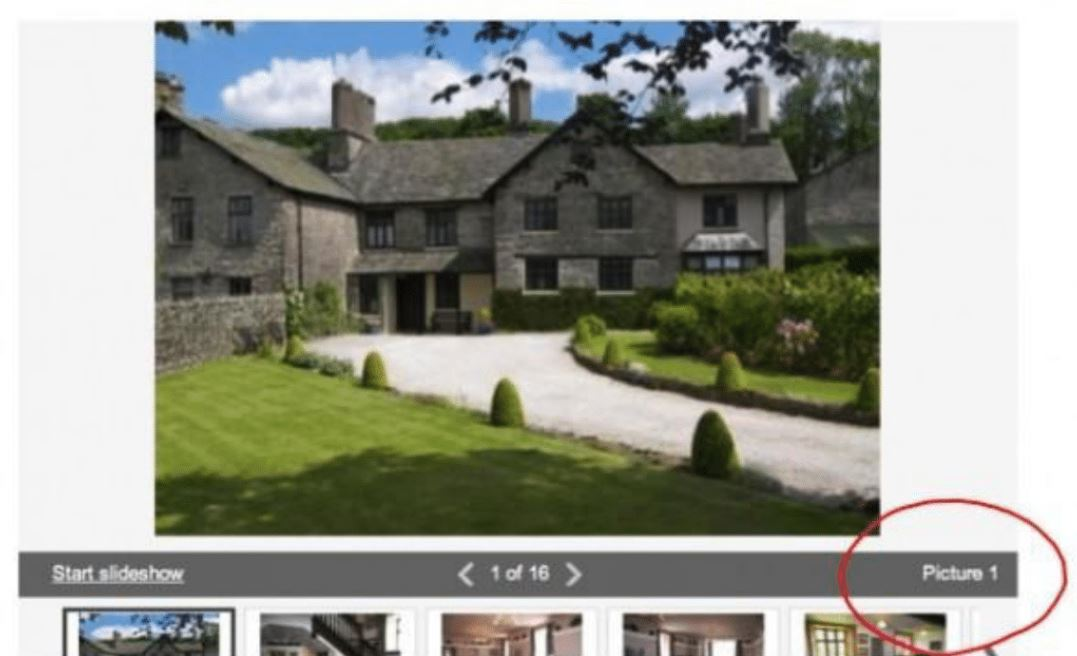 Property images in Rightmove