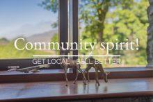 window Community spirit!
