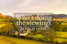 beautiful countryside with houses Who's Doing the Viewings on Your Home_